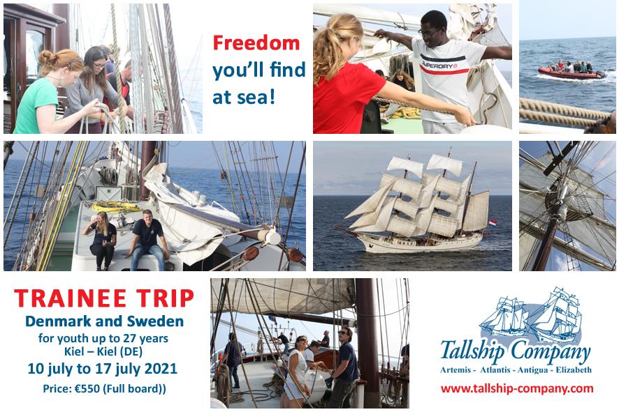 Tall Ships Races Trainee Trip 2021