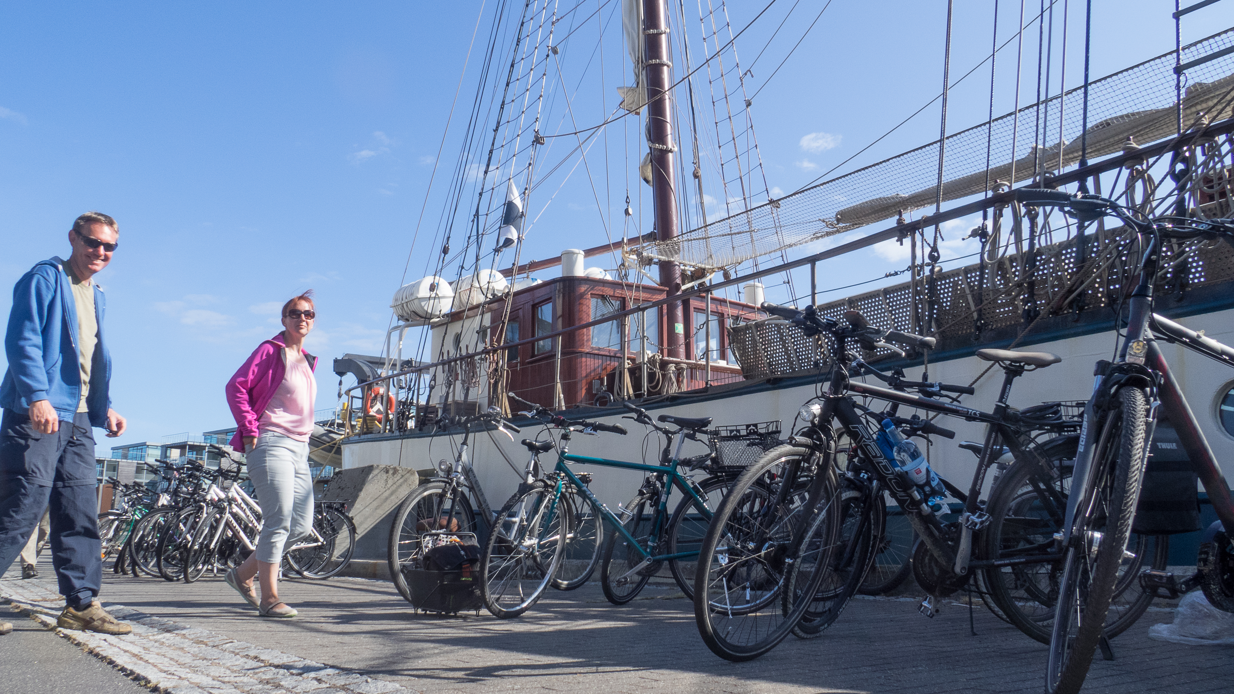 Sail & Bike on Atlantis in the baltic sea